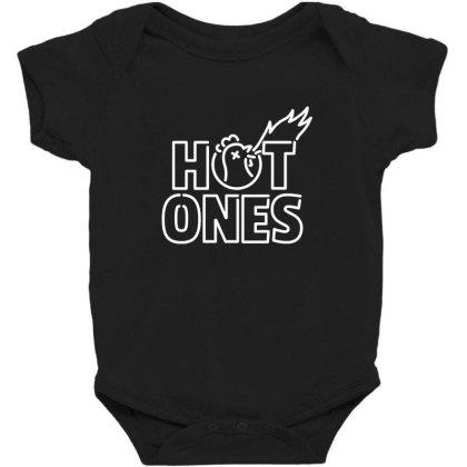 Hot Ones Baby Bodysuit Designed By Elijahbiddell