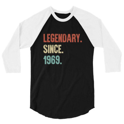 Legendary 3/4 Sleeve Shirt Designed By Elijahbiddell