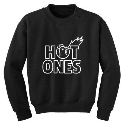 Hot Ones Youth Sweatshirt Designed By Elijahbiddell