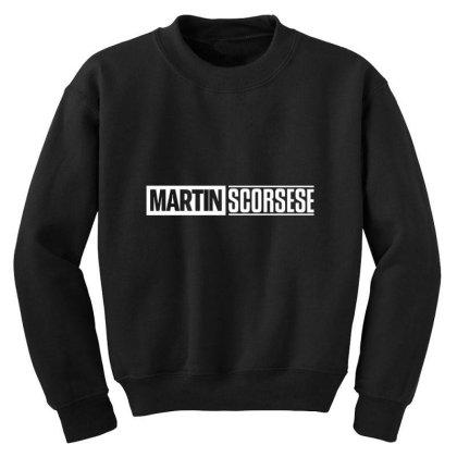 Martin Scorsese Youth Sweatshirt Designed By Elijahbiddell