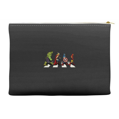 Funny Superhero Road Accessory Pouches Designed By Realme Tees