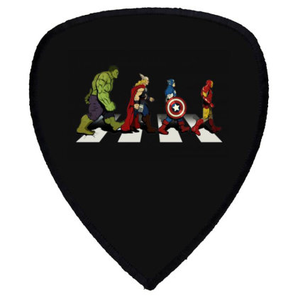 Funny Superhero Road Shield S Patch Designed By Realme Tees