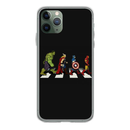 Funny Superhero Road Iphone 11 Pro Case Designed By Realme Tees