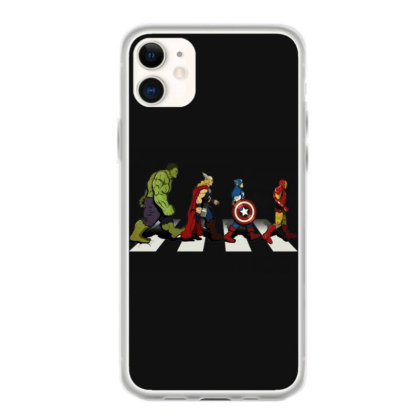 Funny Superhero Road Iphone 11 Case Designed By Realme Tees