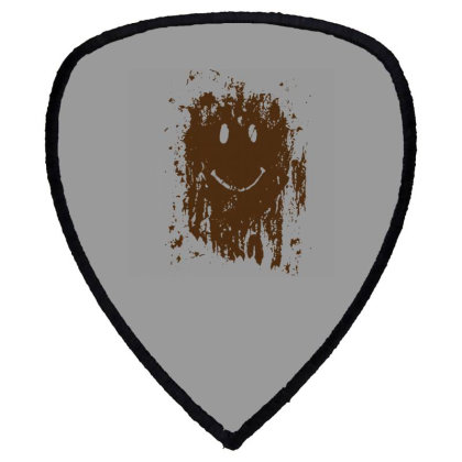 Mud Splatter Smiley Face Shield S Patch Designed By Hectorz