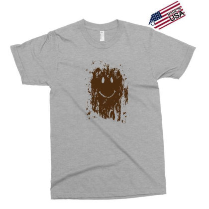 Mud Splatter Smiley Face Exclusive T-shirt Designed By Hectorz