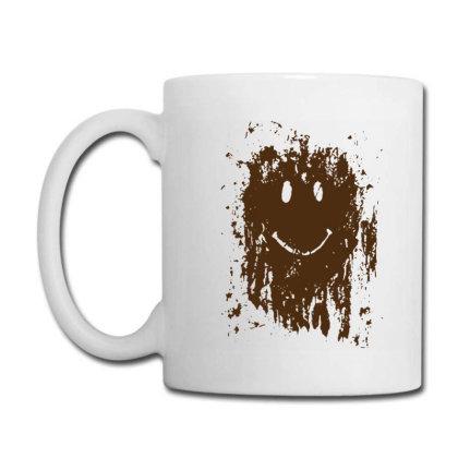 Mud Splatter Smiley Face Coffee Mug Designed By Hectorz