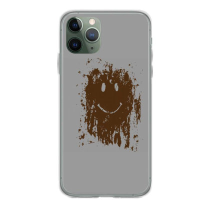 Mud Splatter Smiley Face Iphone 11 Pro Case Designed By Hectorz