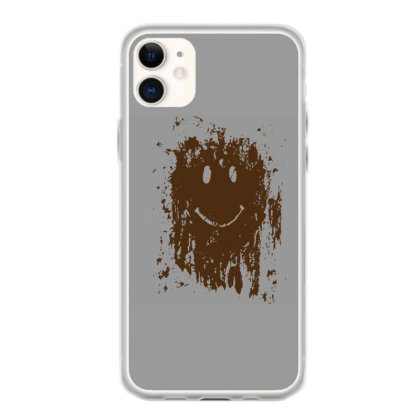 Mud Splatter Smiley Face Iphone 11 Case Designed By Hectorz