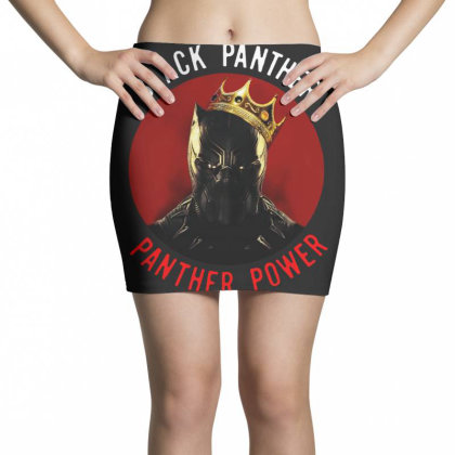 Panther Power Black Panther Mini Skirts Designed By Realme Tees