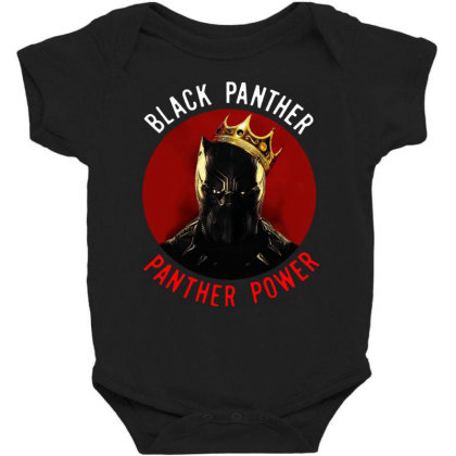 Panther Power Black Panther Baby Bodysuit Designed By Realme Tees