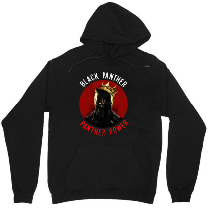 Panther Power Black Panther Unisex Hoodie Designed By Realme Tees