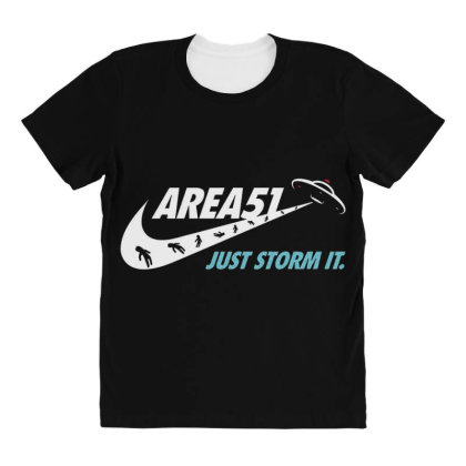 Just Storm It All Over Women's T-shirt Designed By Hectorz