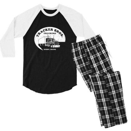 Tracker Bros Men's 3/4 Sleeve Pajama Set Designed By Hectorz