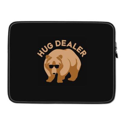 Hug Dealer Laptop Sleeve Designed By Hectorz