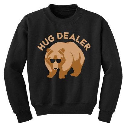 Hug Dealer Youth Sweatshirt Designed By Hectorz