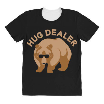 Hug Dealer All Over Women's T-shirt Designed By Hectorz