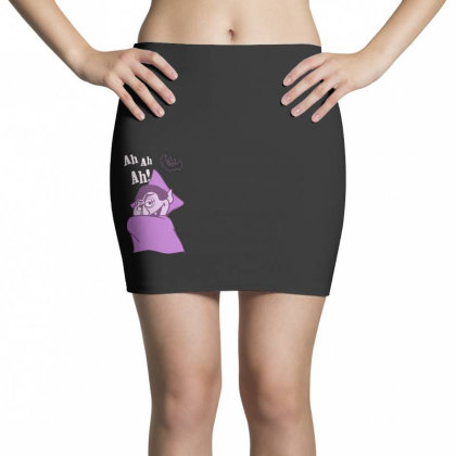 Ah Ah Ah! Count Von Count Mini Skirts Designed By Realme Tees