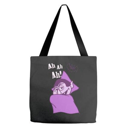 Ah Ah Ah! Count Von Count Tote Bags Designed By Realme Tees