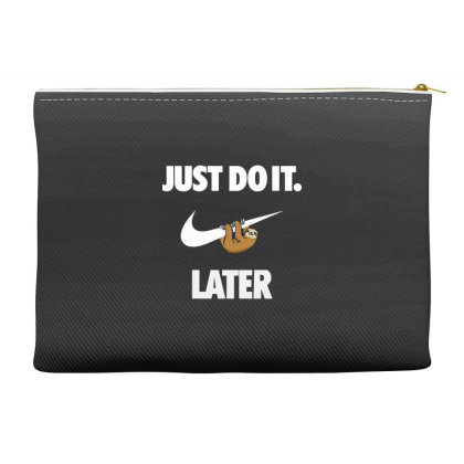 Do It Sloth Funny Accessory Pouches Designed By Realme Tees