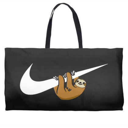 Do It Sloth Funny Weekender Totes Designed By Realme Tees