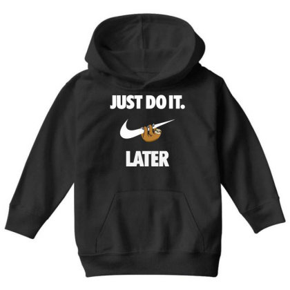 Do It Sloth Funny Youth Hoodie Designed By Realme Tees
