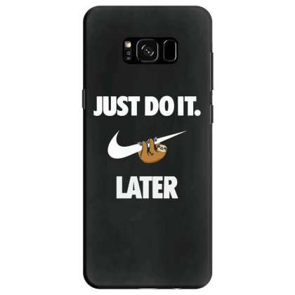 Do It Sloth Funny Samsung Galaxy S8 Case Designed By Realme Tees