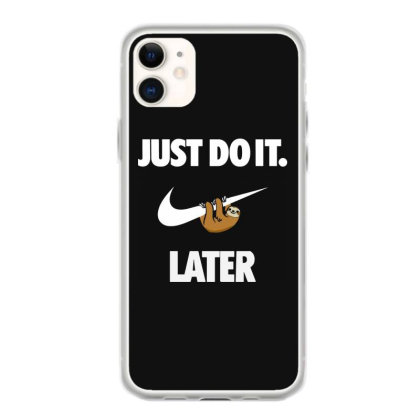 Do It Sloth Funny Iphone 11 Case Designed By Realme Tees