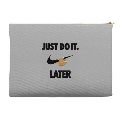Funny Do It Sloth Accessory Pouches Designed By Realme Tees