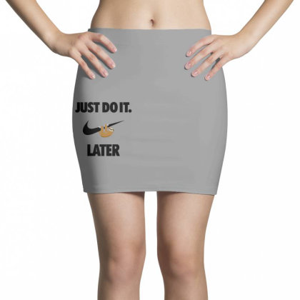 Funny Do It Sloth Mini Skirts Designed By Realme Tees