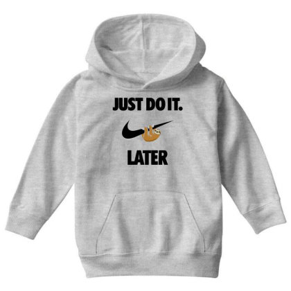 Funny Do It Sloth Youth Hoodie Designed By Realme Tees