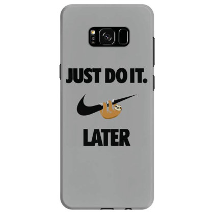 Funny Do It Sloth Samsung Galaxy S8 Case Designed By Realme Tees