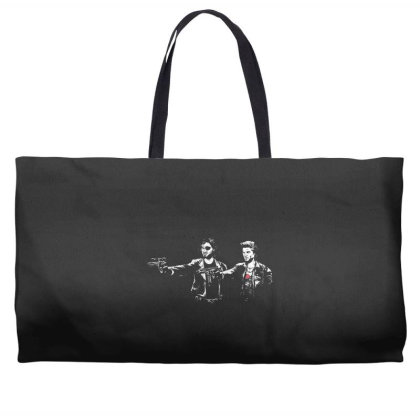 Kurt Fiction Weekender Totes Designed By Hectorz