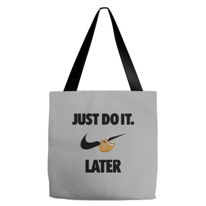Funny Do It Sloth Tote Bags Designed By Realme Tees
