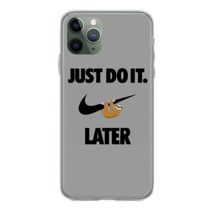 Funny Do It Sloth Iphone 11 Pro Case Designed By Realme Tees