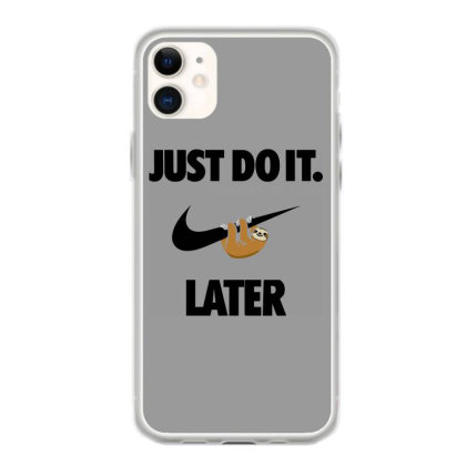 Funny Do It Sloth Iphone 11 Case Designed By Realme Tees
