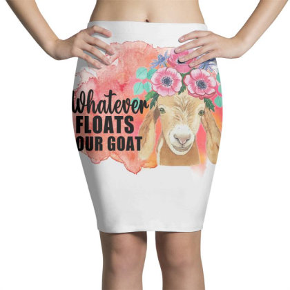 Whatever Floats Your Goat Pencil Skirts Designed By Alparslan Acar