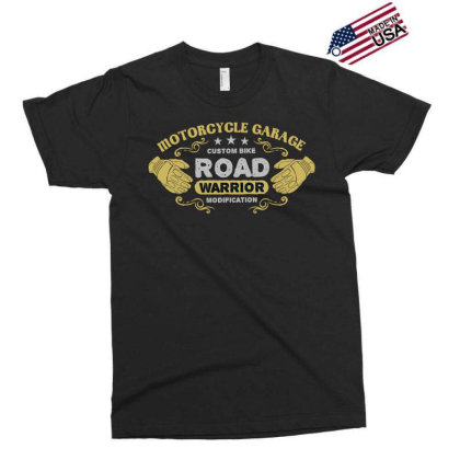 Motorcycle Garage Exclusive T-shirt Designed By Chiks