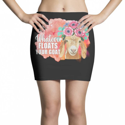 Whatever Floats Your Goat Mini Skirts Designed By Alparslan Acar