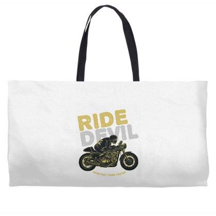 Ride Devil Weekender Totes Designed By Chiks