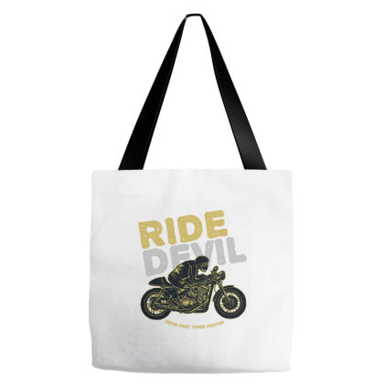 Ride Devil Tote Bags Designed By Chiks