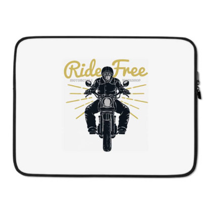 Ride Free Laptop Sleeve Designed By Chiks