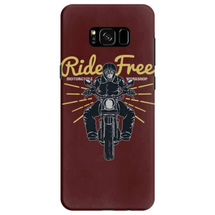 Ride Free Samsung Galaxy S8 Case Designed By Chiks