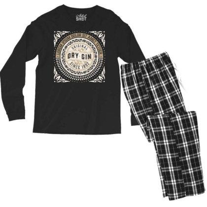 Original Vintage Retro Clasic Men's Long Sleeve Pajama Set Designed By Designisfun