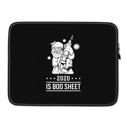2020 Is Boo Sheet - Halloween Gift Scary Laptop Sleeve Designed By Diogo Calheiros