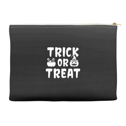 Trick Or Treat - Halloween Gift Scary Accessory Pouches Designed By Diogo Calheiros