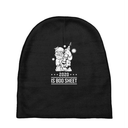 2020 Is Boo Sheet - Halloween Gift Scary Baby Beanies Designed By Diogo Calheiros
