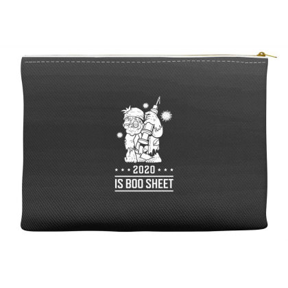 2020 Is Boo Sheet - Halloween Gift Scary Accessory Pouches Designed By Diogo Calheiros