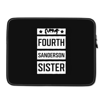 Fourth Sanderson Sister - Halloween Gift Scary Laptop Sleeve Designed By Diogo Calheiros