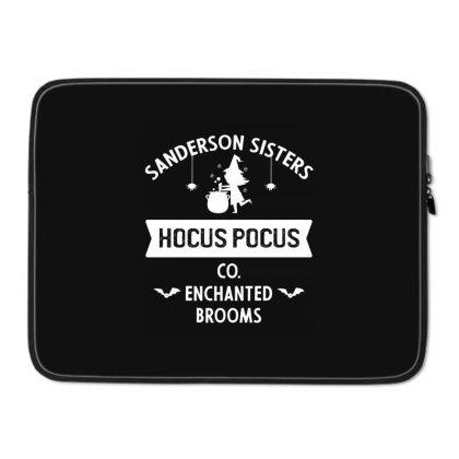 Hocus Pocus Co Sanderson Sister - Halloween Gift Scary Laptop Sleeve Designed By Diogo Calheiros